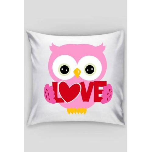p2ws Owl pillow
