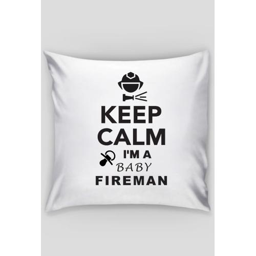 keepcalmbaby Poduszka dla dziecka strażaka