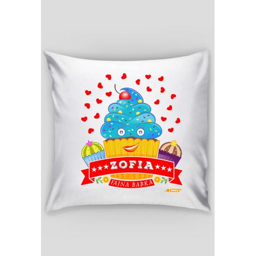 dudle Zofia fajna babka - poszewka dekoracyjna na poduszkę jaśka