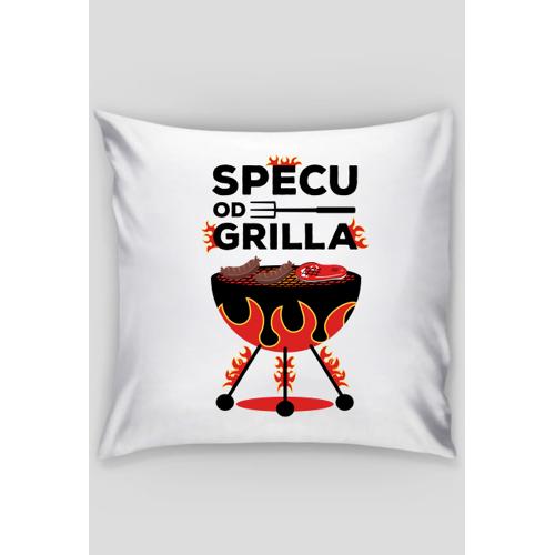 dudle Specu od grilla - poszewka dekoracyjna na poduszkę jaśka
