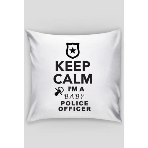 keepcalmbaby Poduszka dla dziecka policjanta