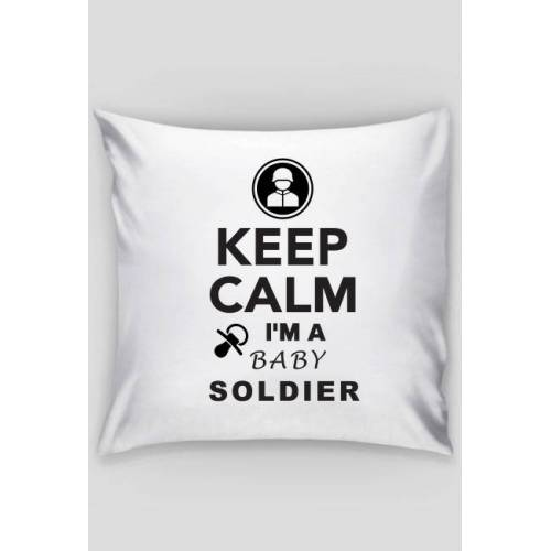 keepcalmbaby Poduszka dla dziecka żołnierza