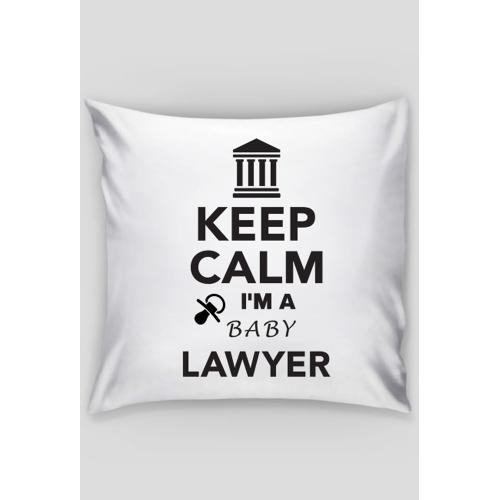 keepcalmbaby Poduszka dla dziecka prawnika