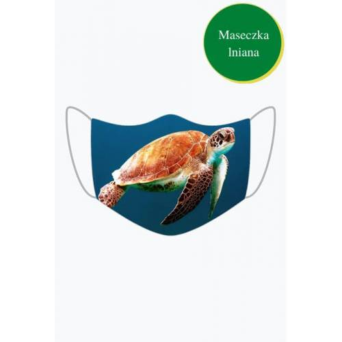 MojaMaseczkaOchronna Maseczka ochronna żółw