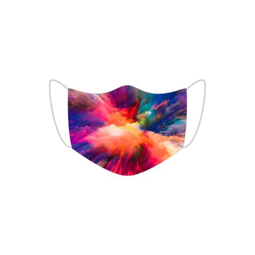 maski Maseczka bawełniana - farba