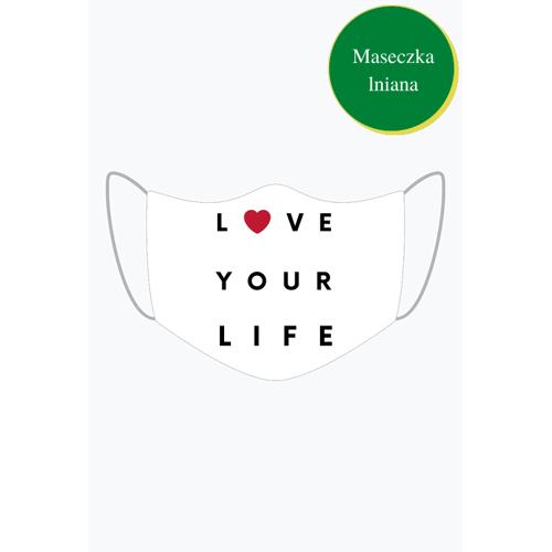 MojaMaseczkaOchronna Maseczka ochronna love life