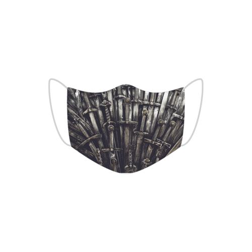 maski Maseczka bawełniana - czarna żelazny tron