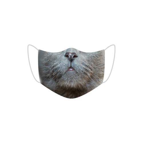 Hellshop Kot maseczka z miejscem na filtr + 3 filtry gratis