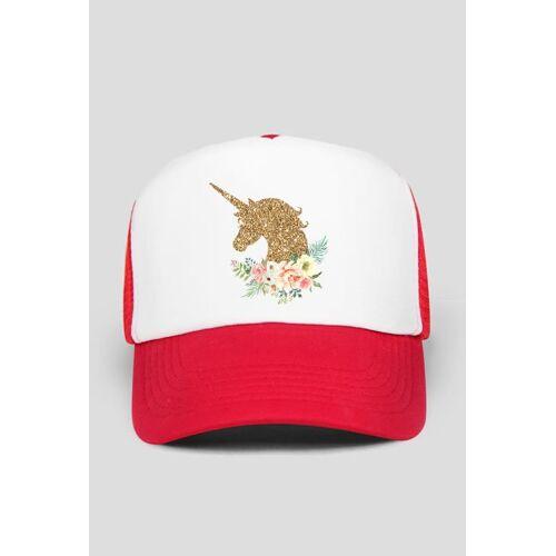 rzeczyzjednorozcem Fajne czapki - czapka ze złotym jednorożcem