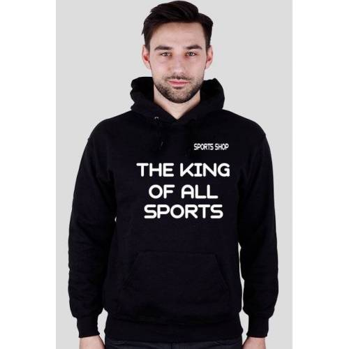 SportsShop7 Bluza sportowa the king of all sports