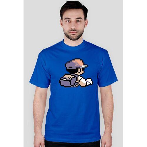 highking Pokemon t-shirt trainer blue