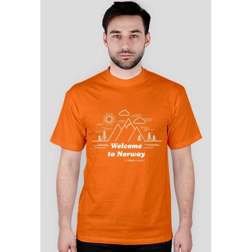 mojanorwegia Welcome to norway t-shirt