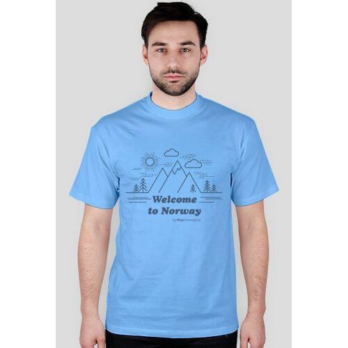 mojanorwegia Welcome norway t-shirt