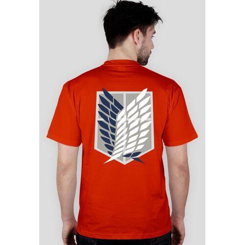 anime-t-shirts Koszulka zwiadowcy - shingeki no kyojin