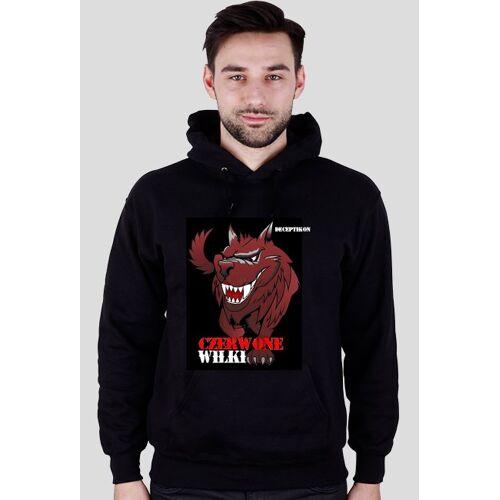 Czerwone-wilki Bluza z logo czerwone wilki