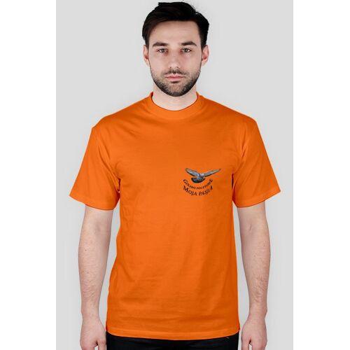 aircamp-koszulki Gołębie pocztowe- moja pasja (+tył)