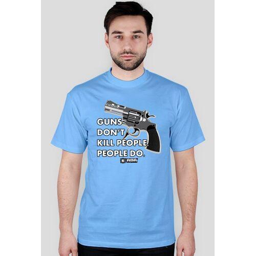 pada Koszulka męska - pistolety. pada