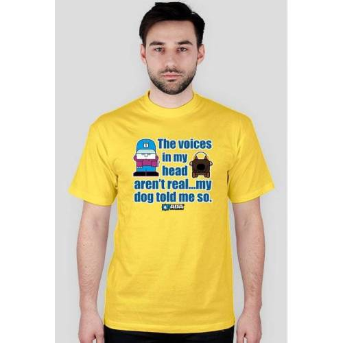 pada Koszulka męska - gadający pies. pada