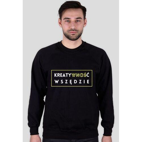 olborska Kreatywność wnoś - męska bluza