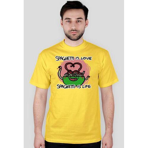 JonSpaghetti Koszulka spaghetti is love męska