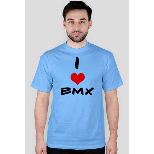 rowerowy I love bmx- krótki rękaw