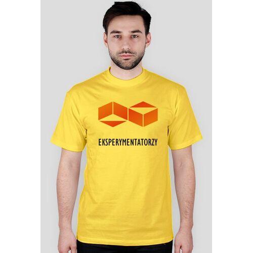 Eksperymentatorzy Grupa eksperymentatorzy - koszulka z logo