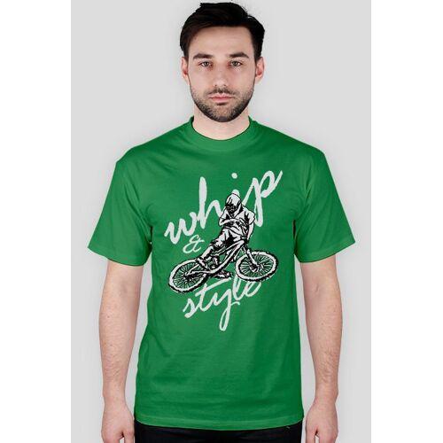 koszulkirowerowe Dh03 - koszulka rowerowa męska