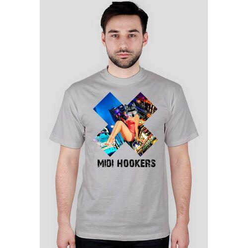 midi_hookers T-shirt logo midi hookers