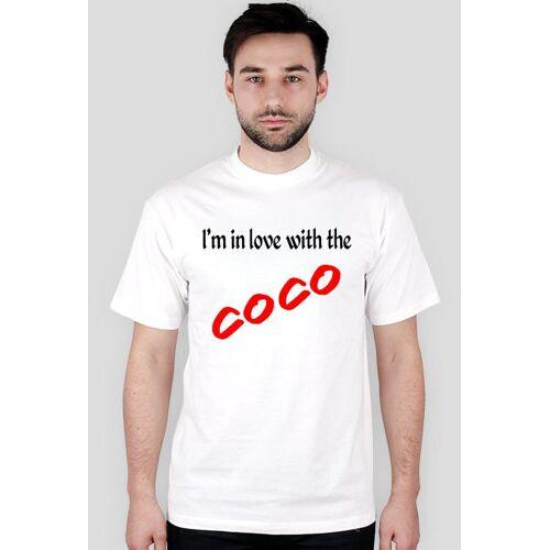 TwardeKoszulki I'm in love with the coco