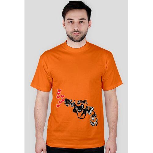 Koszulki_dla_par Pistolet miłości