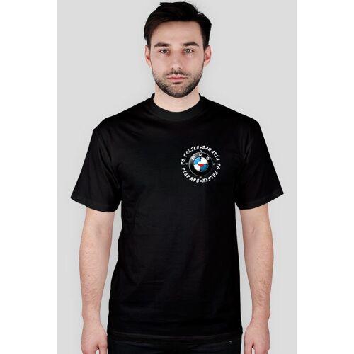 tylkobmw T-shirt bawaria po polsku (logo przód + tył)
