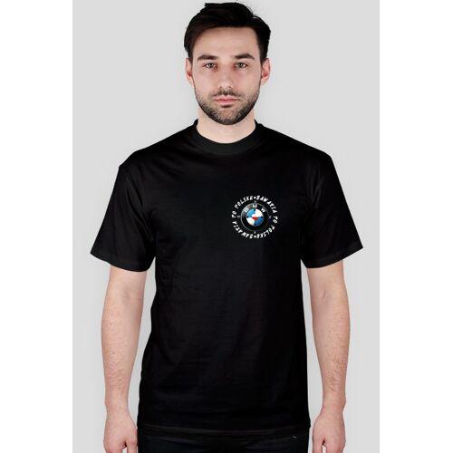 tylkobmw T-shirt bawaria po polsku (logo przód)