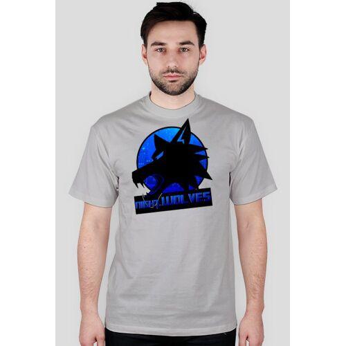 NightWolvese-Sport Night.wolves - koszulka ogólna, k. szary