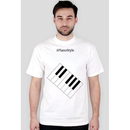 PianoStyle Koszulka pianostyle biała