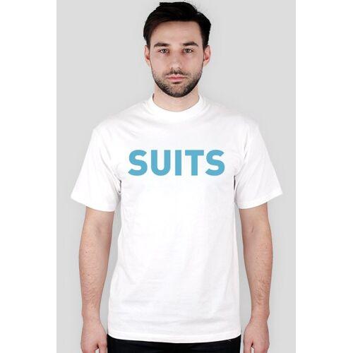 serialowygadzet T-shirt suits multicolor front
