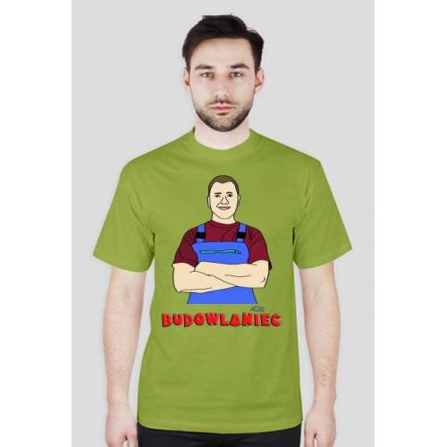 mariobudowlaniec Koszulka budowlańca