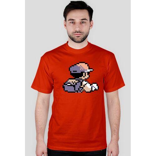 highking Pokemon t-shirt trainer red