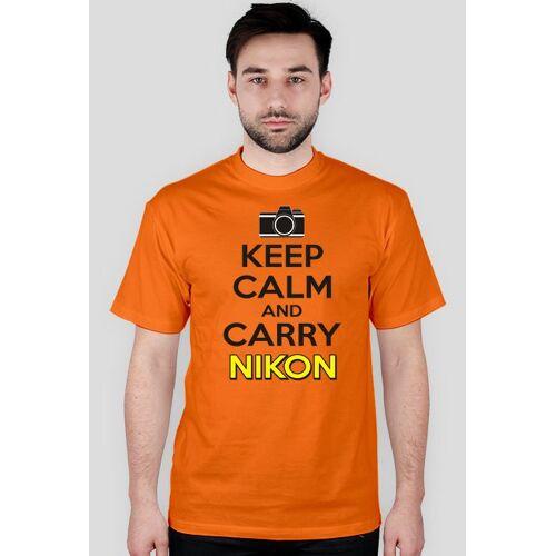 tees Keep calm and carry nikon, aparat