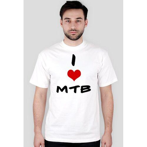 rowerowy I love mtb-krótki rękaw