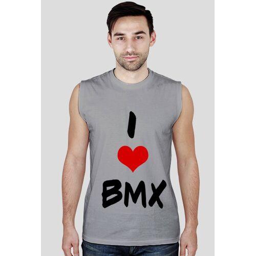 rowerowy I love bmx- bez rękawów