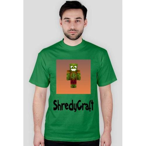 ShredyCraft Początkujaca koszulka