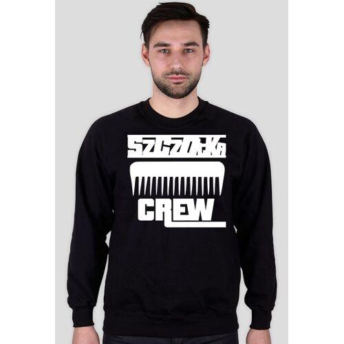 WitArtiK #szczotka_crew bluzka - czarna