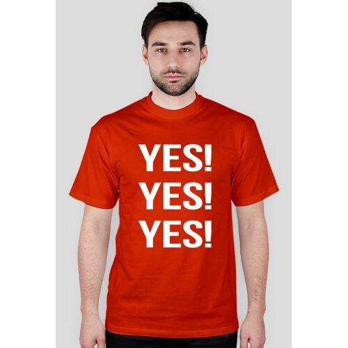 Szczotek Yes! koszulka