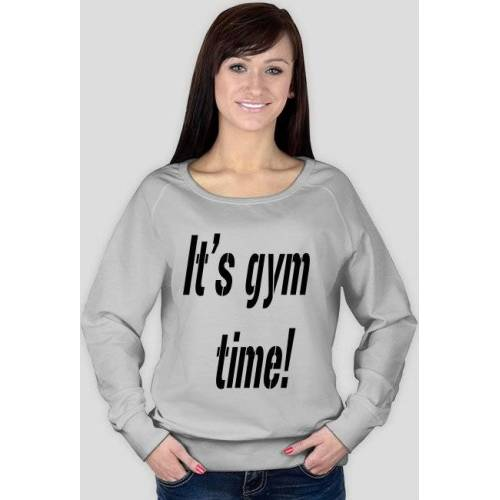 "maintenance Bluza ""it's gym time!"""