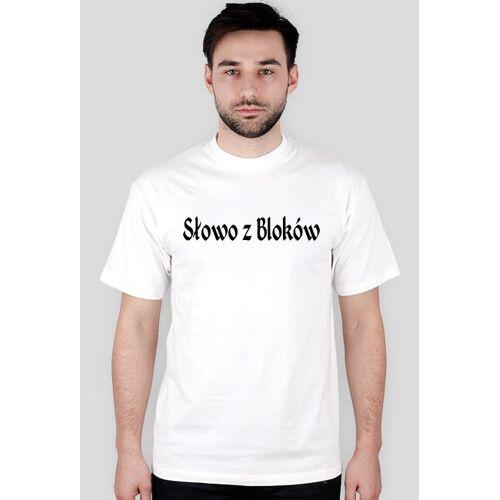 slowozblokow Koszulka słowo z lboków