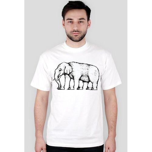 iluzje-optyczne Męska - słoń