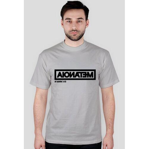 christoforos Metanoia - t-shirt męski szary