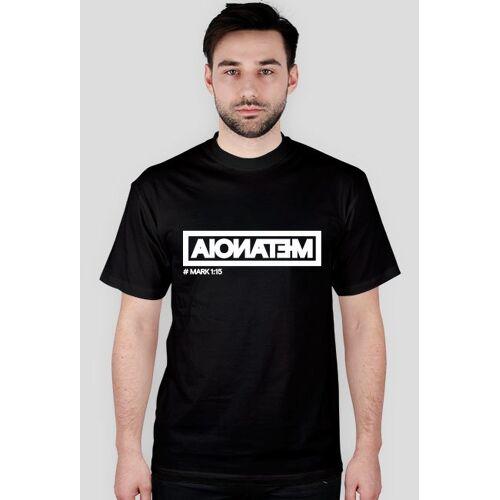 christoforos Metanoia - t-shirt męski czarny