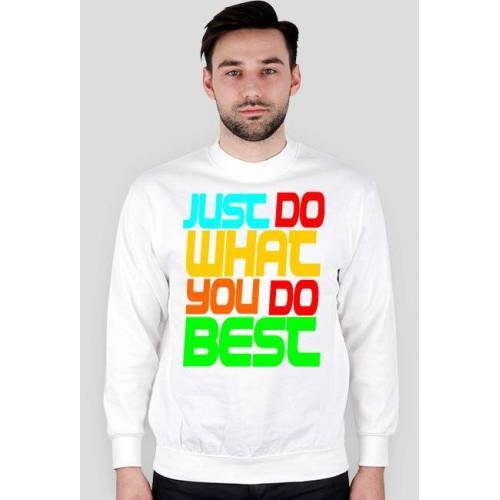 bieginarciarskie Just do bluza sweter