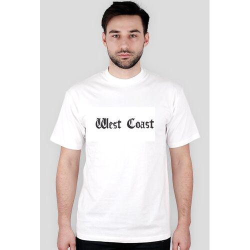 west_coast_ Westcoast t-shirt biały